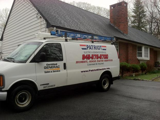 On location at Patriot Electric & Generator Service, a Electrician in Monroe, NY